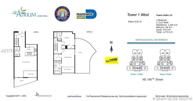 Atrium Unit Ph 1 1214 Condo For Sale In Aventura Condoblackbook