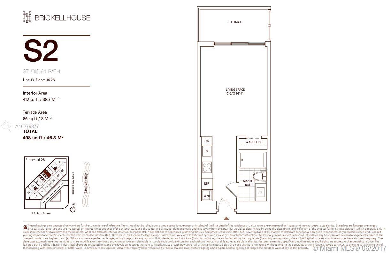 1300 Brickell Bay Drive, Miami, FL 33131, Brickell House #2313, Brickell, Miami A10279877 image #2
