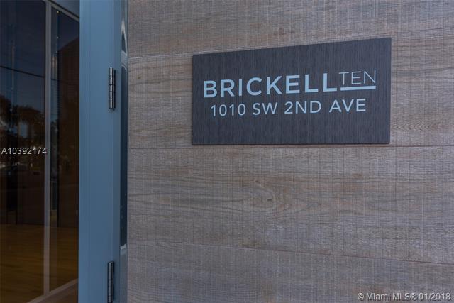 1010 SW 2nd Avenue, Miami, FL 33130, Brickell Ten #1204, Brickell, Miami A10392174 image #44