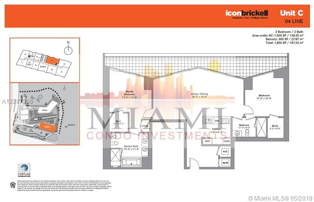 495 Brickell Ave, Miami, FL 33131, Icon Brickell II #2304, Brickell, Miami A10397206 image #17