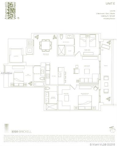 1010 Brickell Avenue, Miami, FL 33131, 1010 Brickell #1903, Brickell, Miami A10440544 image #2