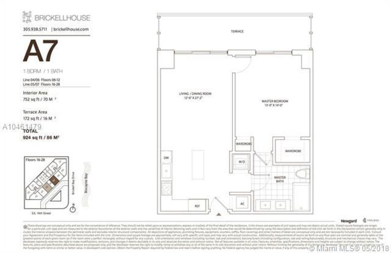 1300 Brickell Bay Drive, Miami, FL 33131, Brickell House #2605, Brickell, Miami A10461479 image #18