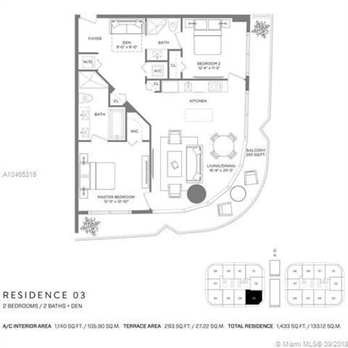 55 SW 9th St, Miami, FL 33130, Brickell Heights West Tower #1103, Brickell, Miami A10465316 image #30