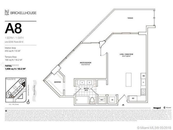 1300 Brickell Bay Drive, Miami, FL 33131, Brickell House #702, Brickell, Miami A10466002 image #20