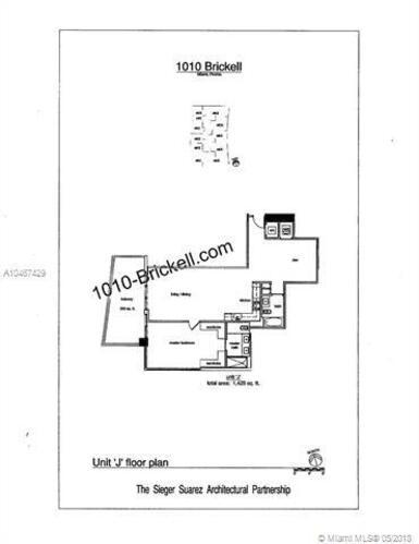 1010 Brickell Avenue, Miami, FL 33131, 1010 Brickell #2106, Brickell, Miami A10467429 image #20