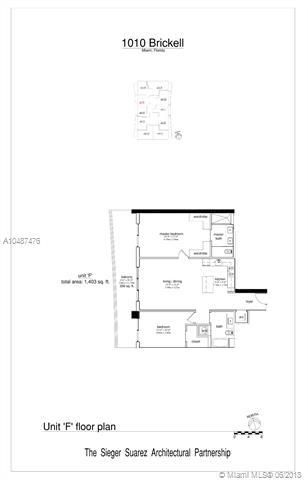 1010 Brickell Avenue, Miami, FL 33131, 1010 Brickell #1409, Brickell, Miami A10487476 image #2