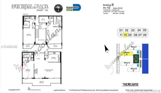 1901 Brickell Ave, Miami. FL 33129, Brickell Place I #APHX, Brickell, Miami A10489405 image #22