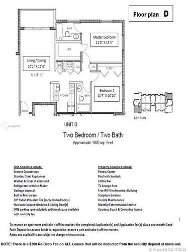 1550 Brickell Ave Miami, FL 33129, 1550 Brickell #213, Brickell, Miami A10494575 image #1