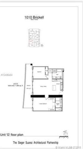 1010 Brickell Avenue, Miami, FL 33131, 1010 Brickell #1507, Brickell, Miami A10496464 image #9