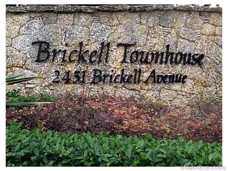 2451 Brickell Avenue, Miami, FL 33129, Brickell Townhouse #18N, Brickell, Miami A10506466 image #1