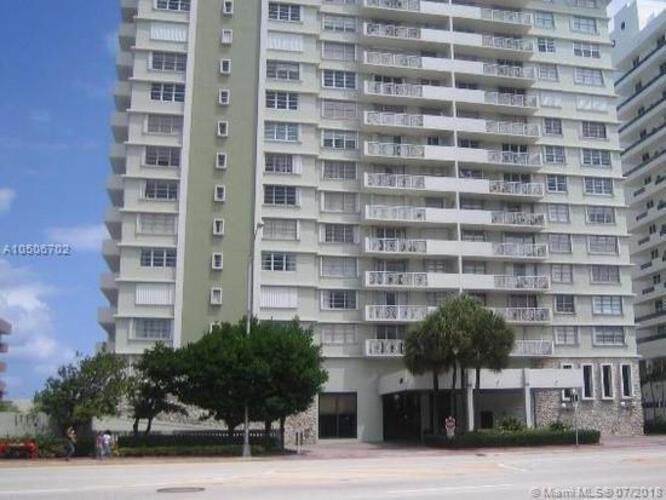 5825 Collins Avenue Miami Fl 33140 Corinthian Condo 8c Mid