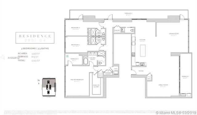 1451 Brickell Avenue, Miami, FL 33131, Echo Brickell #2901/04, Brickell, Miami A10509132 image #1