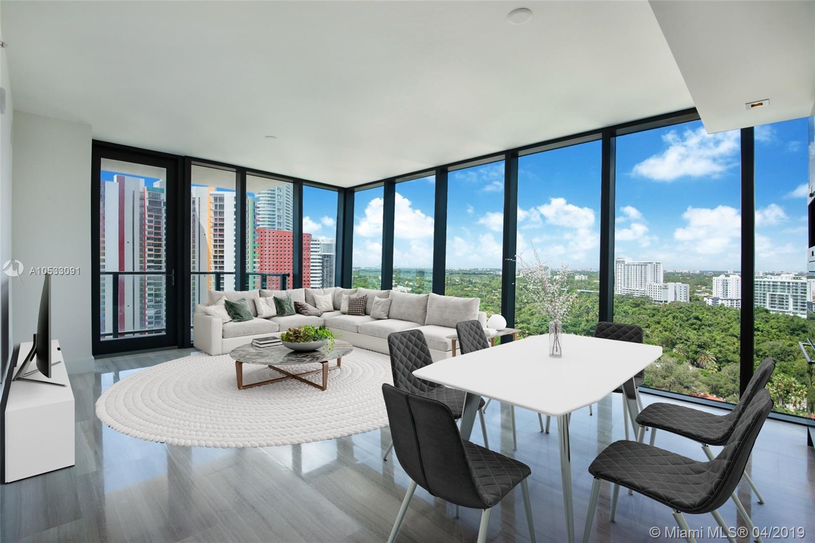 1451 Brickell Avenue, Miami, FL 33131, Echo Brickell #1704, Brickell, Miami A10533091 image #1