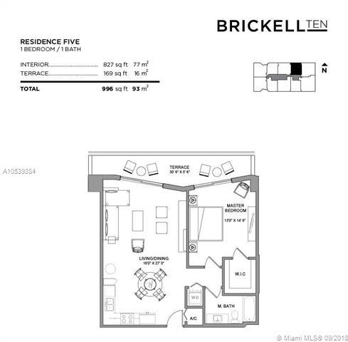 1010 SW 2nd Avenue, Miami, FL 33130, Brickell Ten #705, Brickell, Miami A10539384 image #5