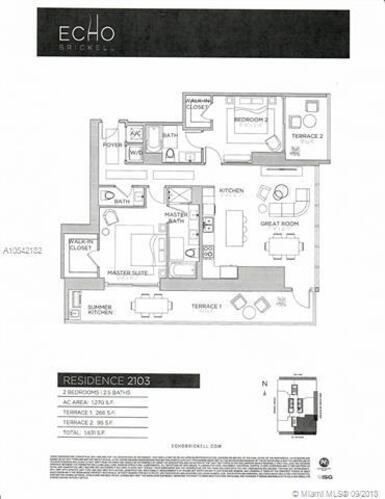 1451 Brickell Avenue, Miami, FL 33131, Echo Brickell #2103, Brickell, Miami A10542182 image #30