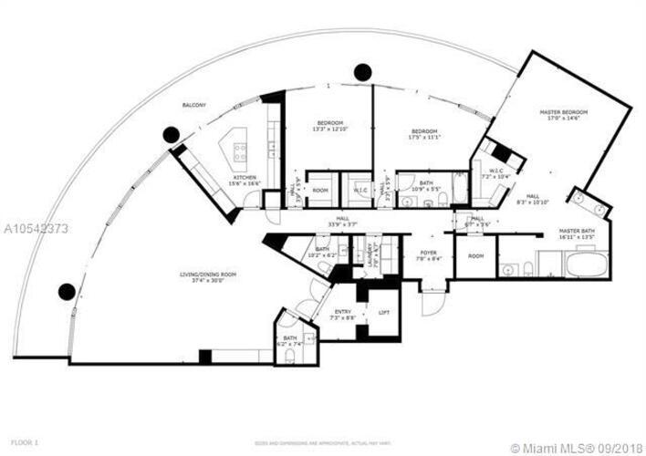 2127 Brickell Avenue, Miami, FL 33129, Bristol Tower Condominium #2302, Brickell, Miami A10542373 image #29