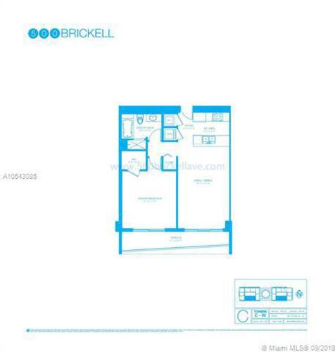 500 Brickell Avenue and 55 SE 6 Street, Miami, FL 33131, 500 Brickell #3408, Brickell, Miami A10543085 image #12