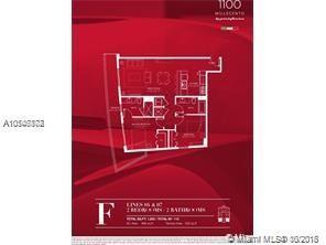1100 S Miami Ave, Miami, FL 33130, 1100 Millecento #1707, Brickell, Miami A10546878 image #1