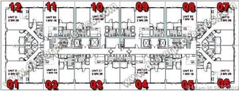 1111 SW 1st Avenue, Miami, FL 33130 (North) and 79 SW 12th Street, Miami, FL 33130 (South), Axis #3002-S, Brickell, Miami A10551012 image #46