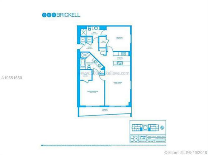 500 Brickell Avenue and 55 SE 6 Street, Miami, FL 33131, 500 Brickell #2910, Brickell, Miami A10551658 image #32