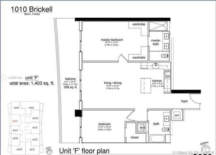 1010 Brickell Avenue, Miami, FL 33131, 1010 Brickell #3909, Brickell, Miami A10561949 image #7