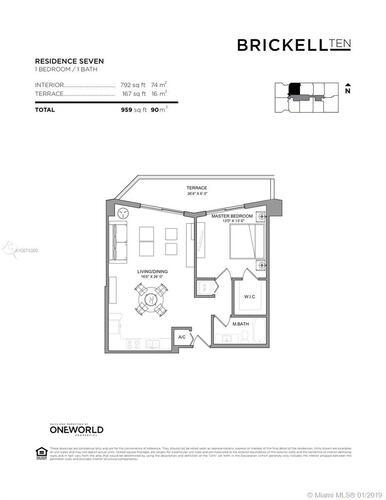 1010 SW 2nd Avenue, Miami, FL 33130, Brickell Ten #1207, Brickell, Miami A10574380 image #14