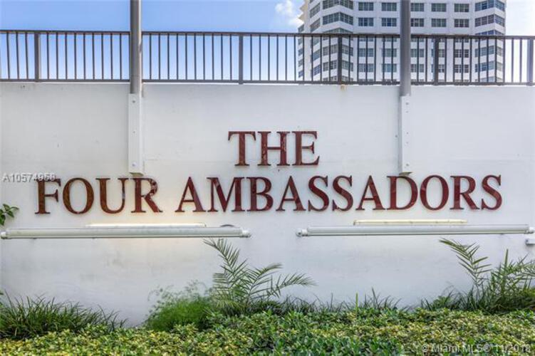 905 Brickell Bay Drive, Miami, FL 33131, Four Ambassadors #1171, Brickell, Miami A10574958 image #1