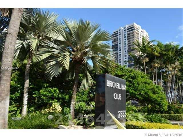 2333 Brickell Avenue, Miami Fl 33129, Brickell Bay Club #1204, Brickell, Miami A10580402 image #2