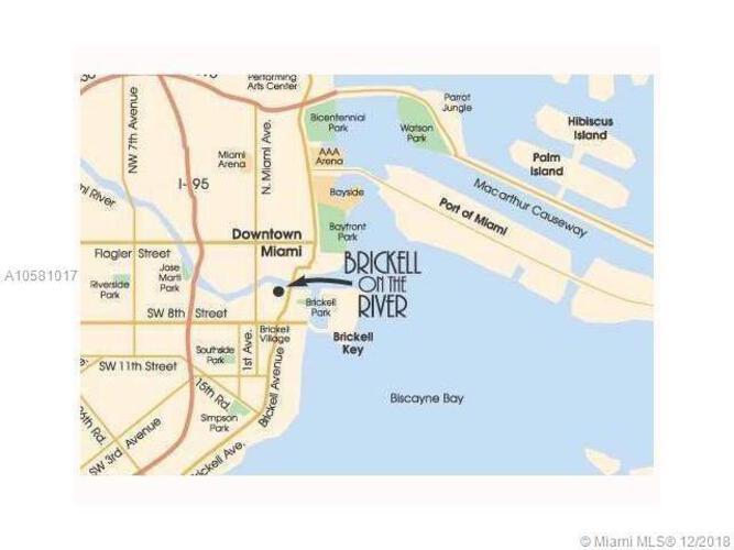 31 SE 5 St, Miami, FL. 33131, Brickell on the River North #2001, Brickell, Miami A10581017 image #27