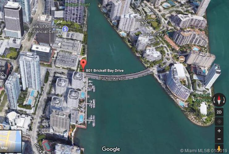 905 Brickell Bay Drive, Miami, FL 33131, Four Ambassadors #871, Brickell, Miami A10588823 image #16