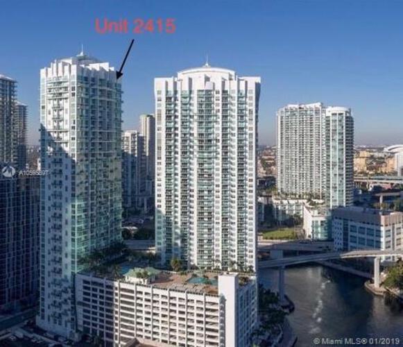 41 SE 5th Street, Miami, FL 33131-2504, Brickell on the River South #2415, Brickell, Miami A10595597 image #1