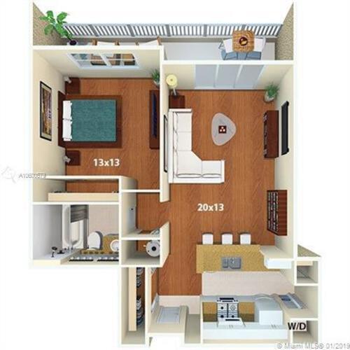 1111 Brickell Bay Dr, Miami, FL 33131, 1111 Brickell #1705, Brickell, Miami A10600579 image #19