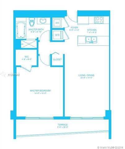 500 Brickell Avenue and 55 SE 6 Street, Miami, FL 33131, 500 Brickell #3404, Brickell, Miami A10607940 image #2