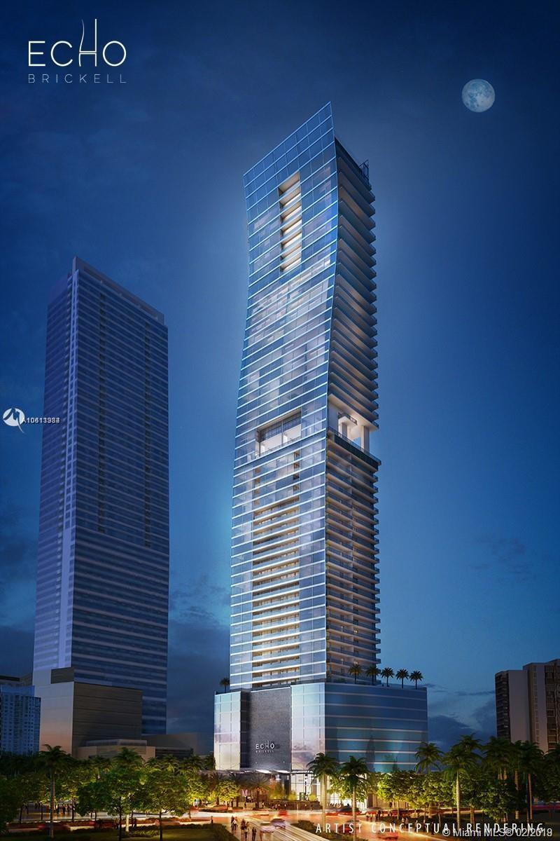 1451 Brickell Avenue, Miami, FL 33131, Echo Brickell #2502, Brickell, Miami A10613384 image #1