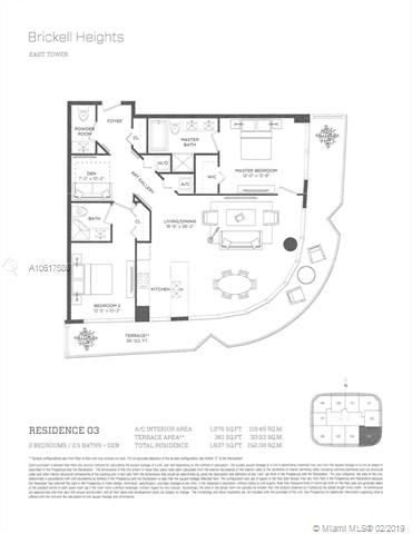 45 SW 9th St, Miami, FL 33130, Brickell Heights East Tower #2503, Brickell, Miami A10617586 image #63