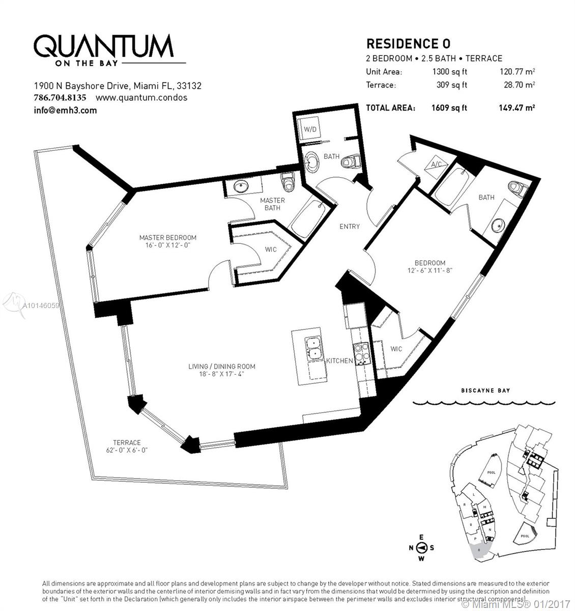 Quantum On The Bay Unit 2918 Condo For Sale In Edgewater