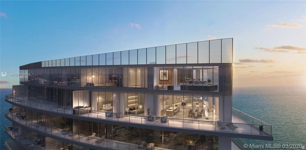 Residences By Armani Casa Unit Penthouse 04 Condo For Sale In Sunny Isles Beach Condoblackbook