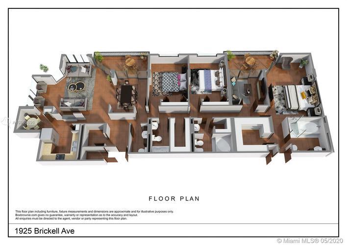 Brickell Place Iv Unit D508 Condo For Sale In Brickell Miami Condos Condoblackbook